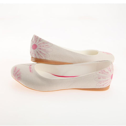 GOBY Flower Ballerinas Shoes 1121