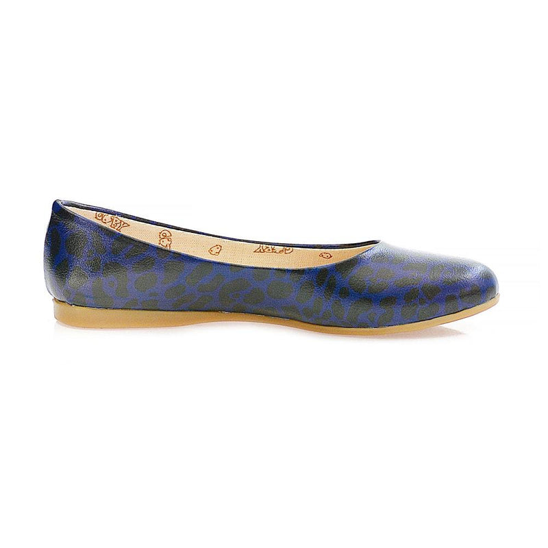 Blue Leopard Ballerinas Shoes 2003 (1405794844768)