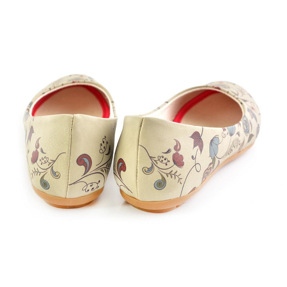 GOBY Flowers Ballerinas Shoes 2007