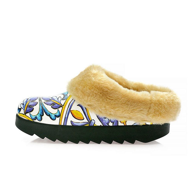 Ceramic Designs Shearling Home Shoes ALB104, Goby, ALASKA Shearling Home Shoes