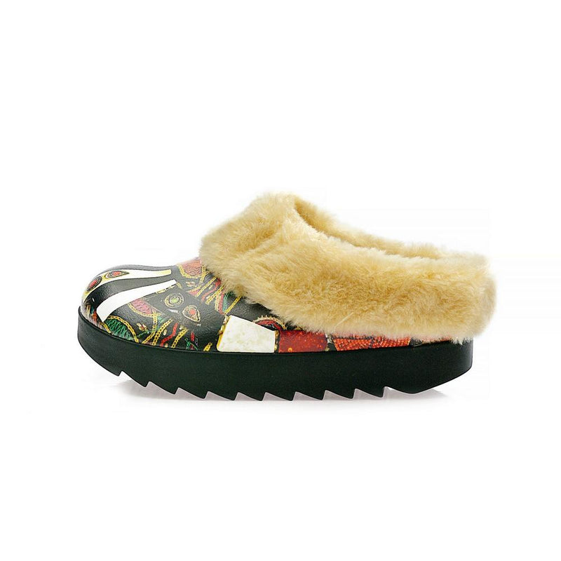 Authentic Shearling Home Shoes ALB106 (1329356603488)