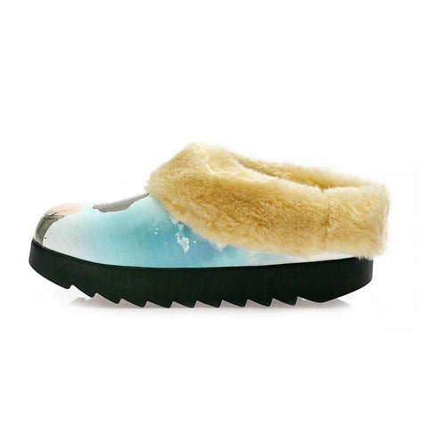 Fashion Fhotographer Shearling Home Shoes ALB108 - Goby ALASKA Shearling Home Shoes
