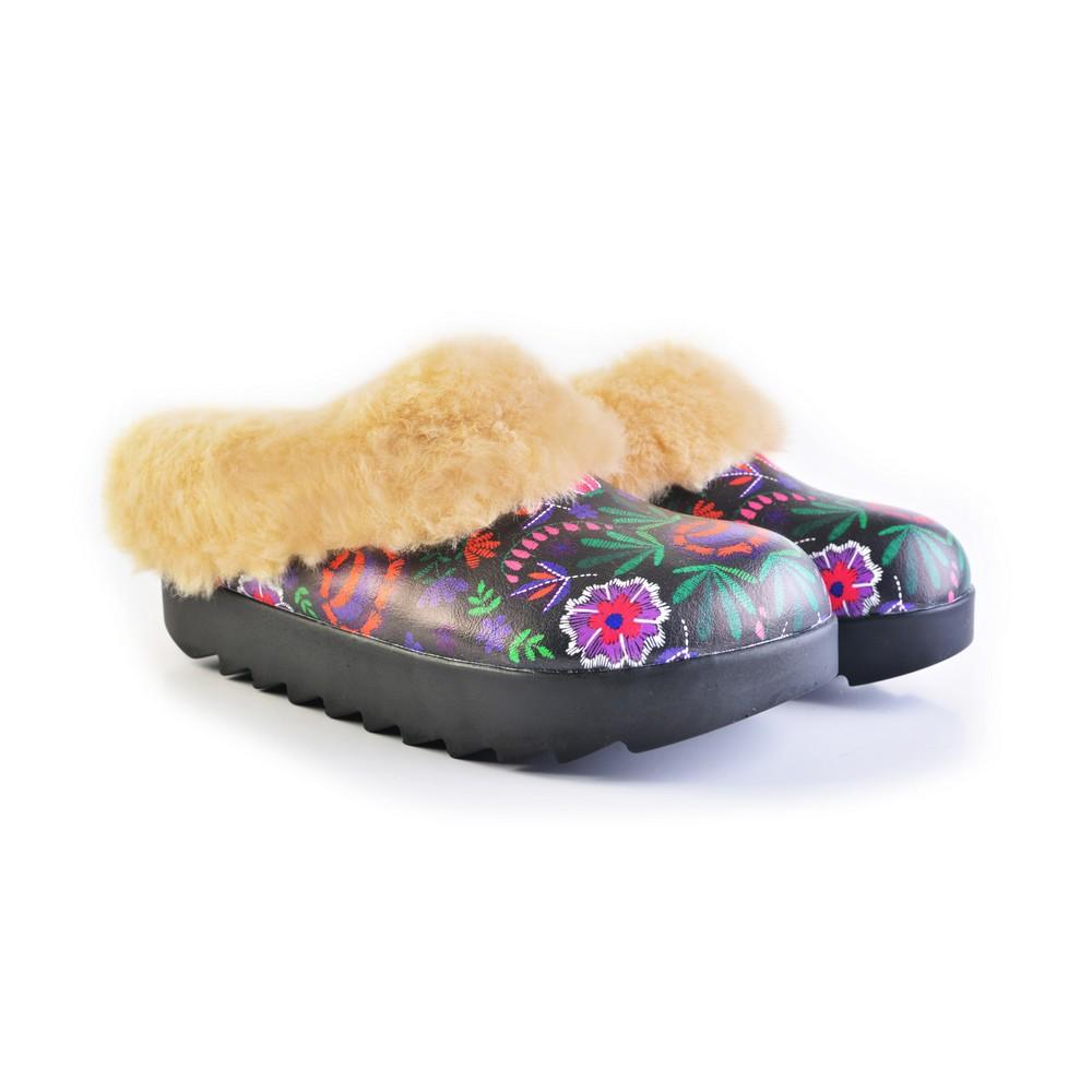 Shearling Home Shoes ALB110