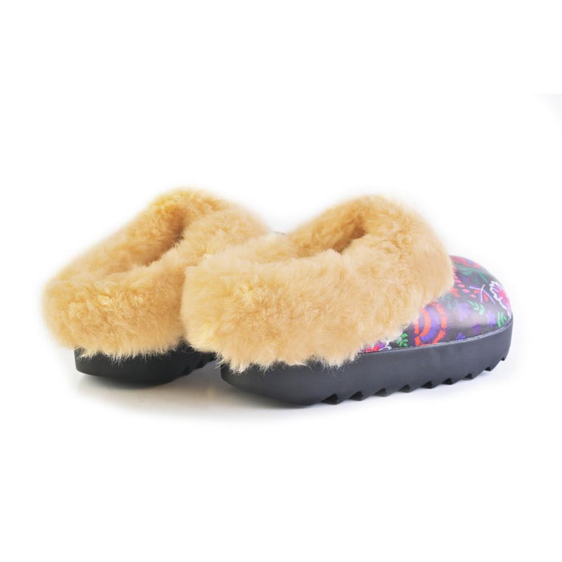 Shearling Home Shoes ALB110 (1329356734560)