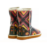 Mexican Long Furry Boots ALG103