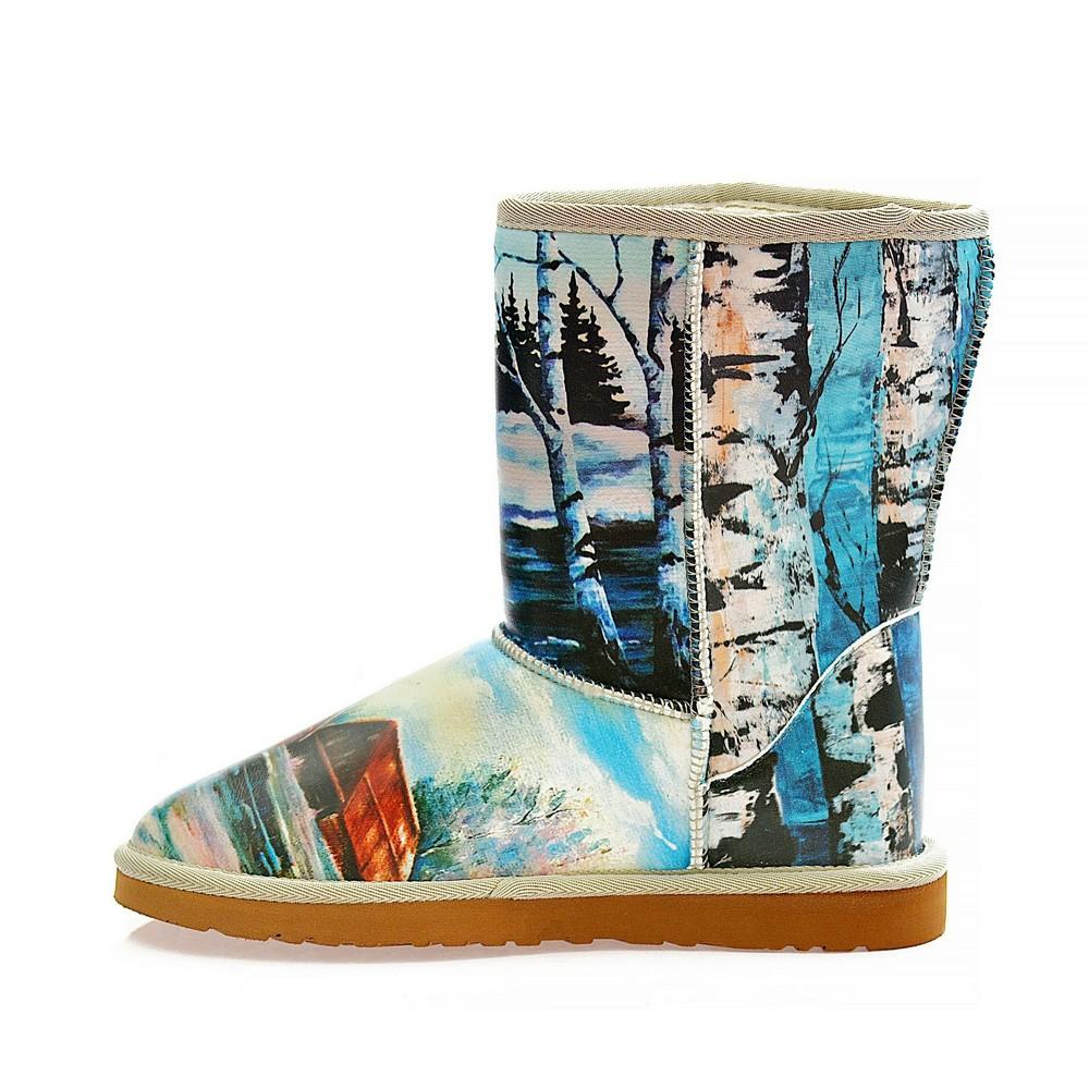 Winter Life Long Furry Boots ALG110