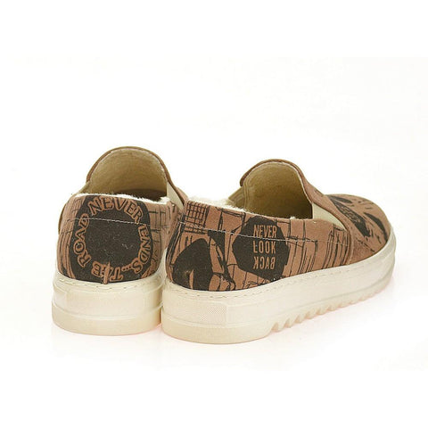 Skull Challenge Slip on Sneakers Shoes AVAN102