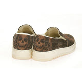 Skull - Bad Angels Slip on Sneakers Shoes AVAN104