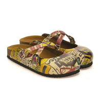 Womens Signboards Soft Comfort Slipper BKS108 (1421136330848)