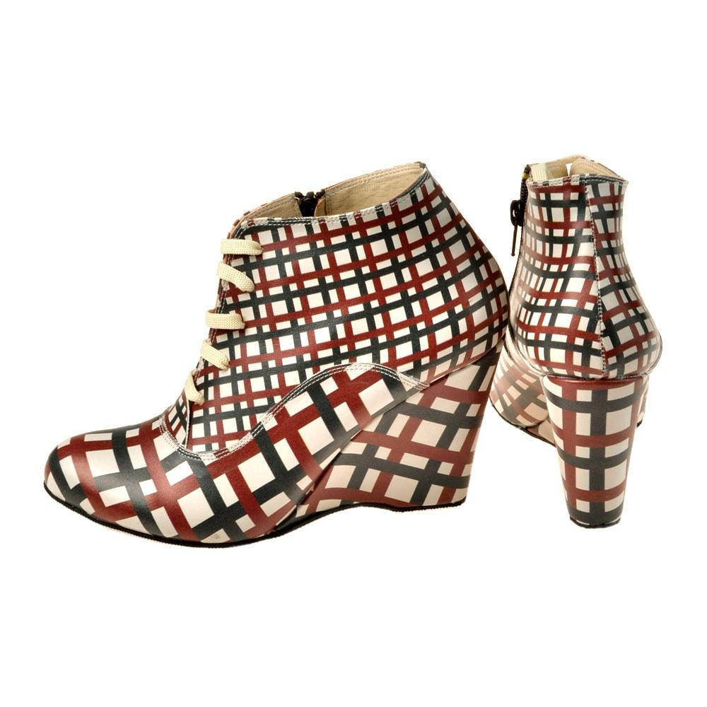 Goby Squares Ankle Boots BT202