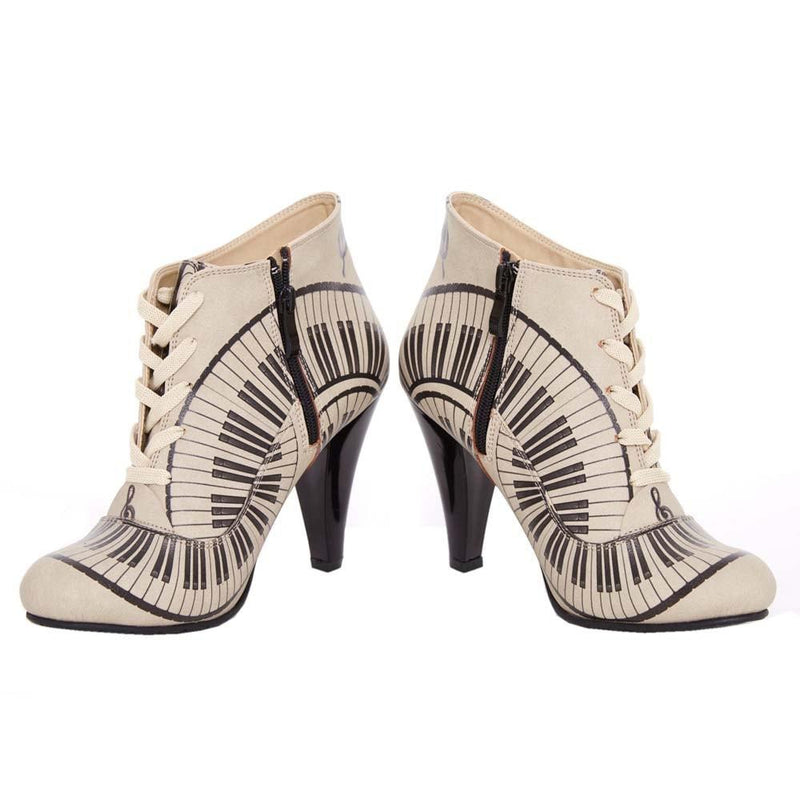 Music Speaks Ankle Boots BT302 (506264518688)