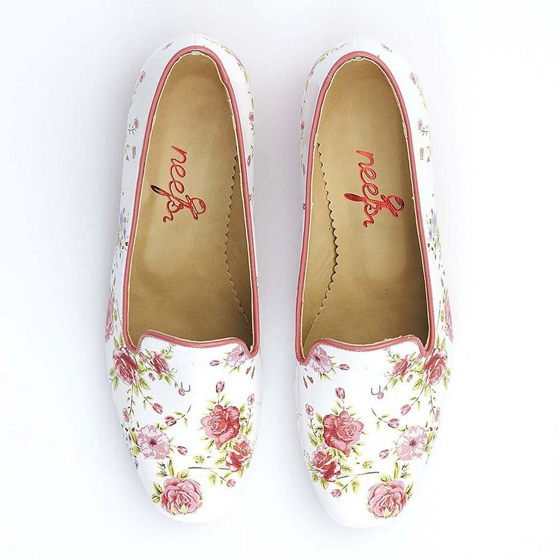 Flowers Career Heel Shoes BYZ201 (770201223264)
