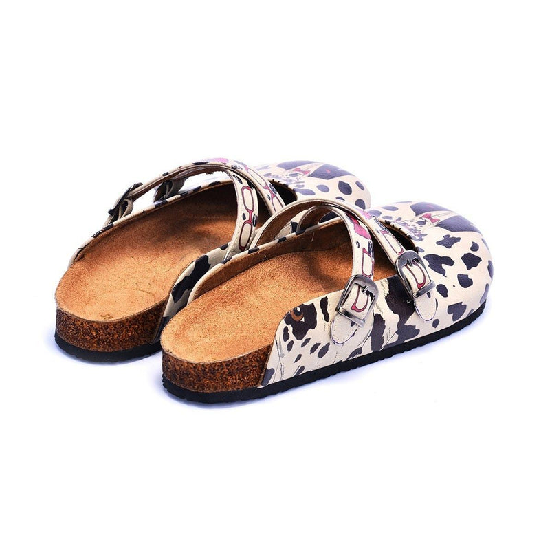 Dalmatian Dog Clogs CAL110 (737669447776)
