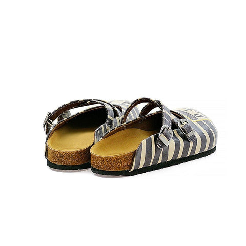 Black Better Late Than Never Clogs CAL111, Goby, CALCEO Clogs