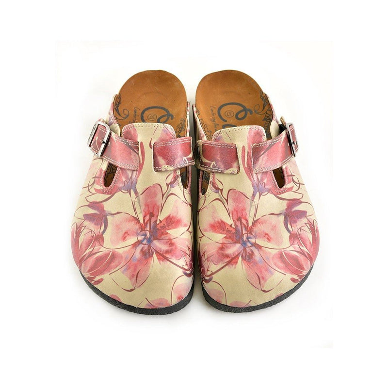 Dusty Rose Clogs CAL348 (737668726880)