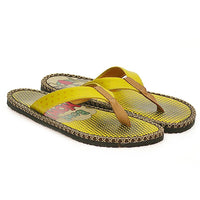 Yellow Cartoon Puppy Flip-Flop CAL404 (737681571936)