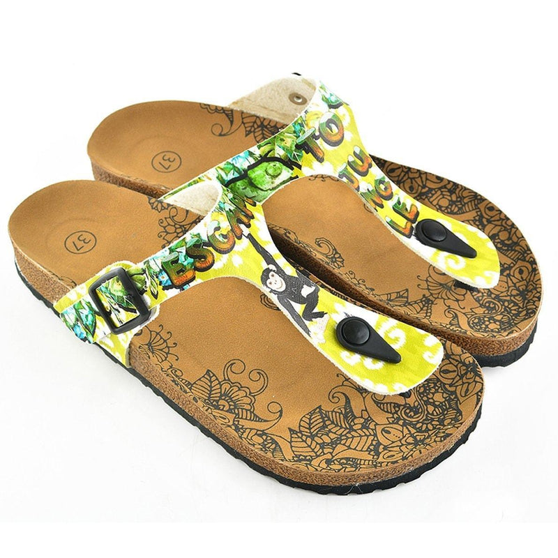 Escape to Jungle Sandal CAL508 (737668071520)