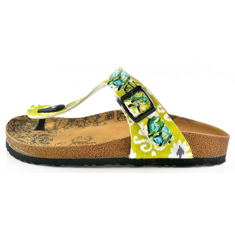 Escape to Jungle Sandal CAL508 - Goby CALCEO Sandal