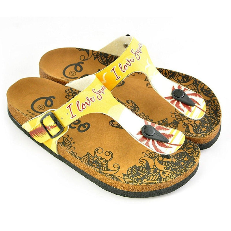 I Love You Summer Sandal CAL520 (737668005984)