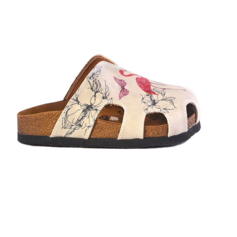 Flamingo Clogs CAL609 (737667874912)