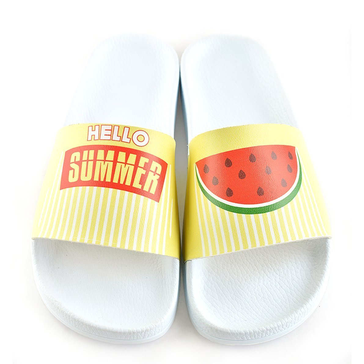 White Watermelon Slide Sandal CAP102
