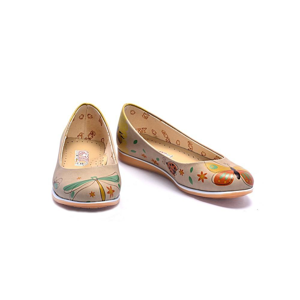 GOBY Wings Ballerinas Shoes COC1001