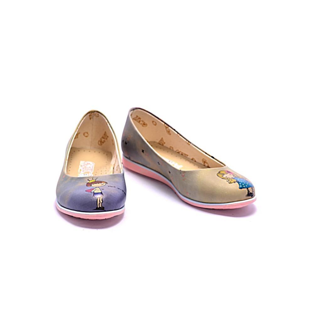 GOBY Cute Girl and Boy Ballerinas Shoes COC1004