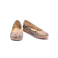 Dalmatian Couple Ballerinas Shoes COC1005 (1405796483168)