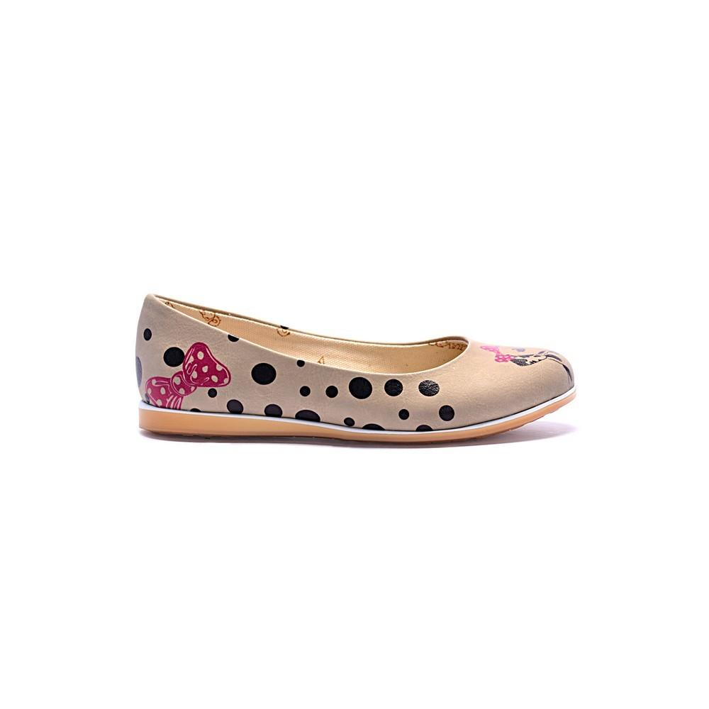 GOBY Dalmatian Couple Ballerinas Shoes COC1005