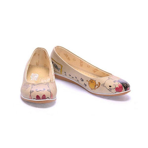 Cute Cats Ballerinas Shoes COC1007
