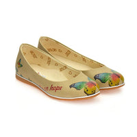 Fly On Hope Ballerinas Shoes COC1008