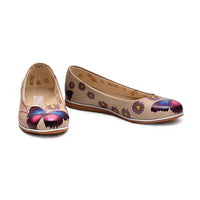 Butterfly Ballerinas Shoes COC1011