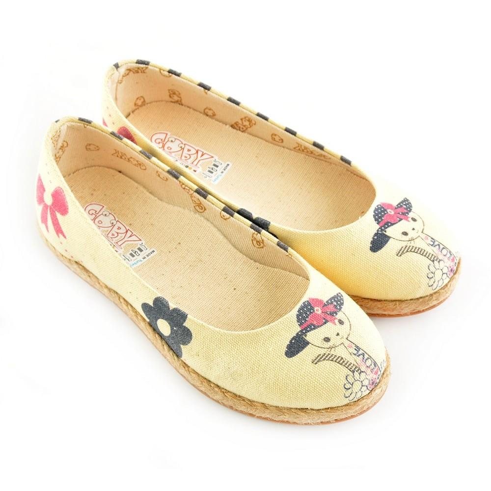 GOBY Kitty Ballerinas Shoes COC1201