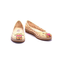 Teddy Bear Ballerinas Shoes COC1206
