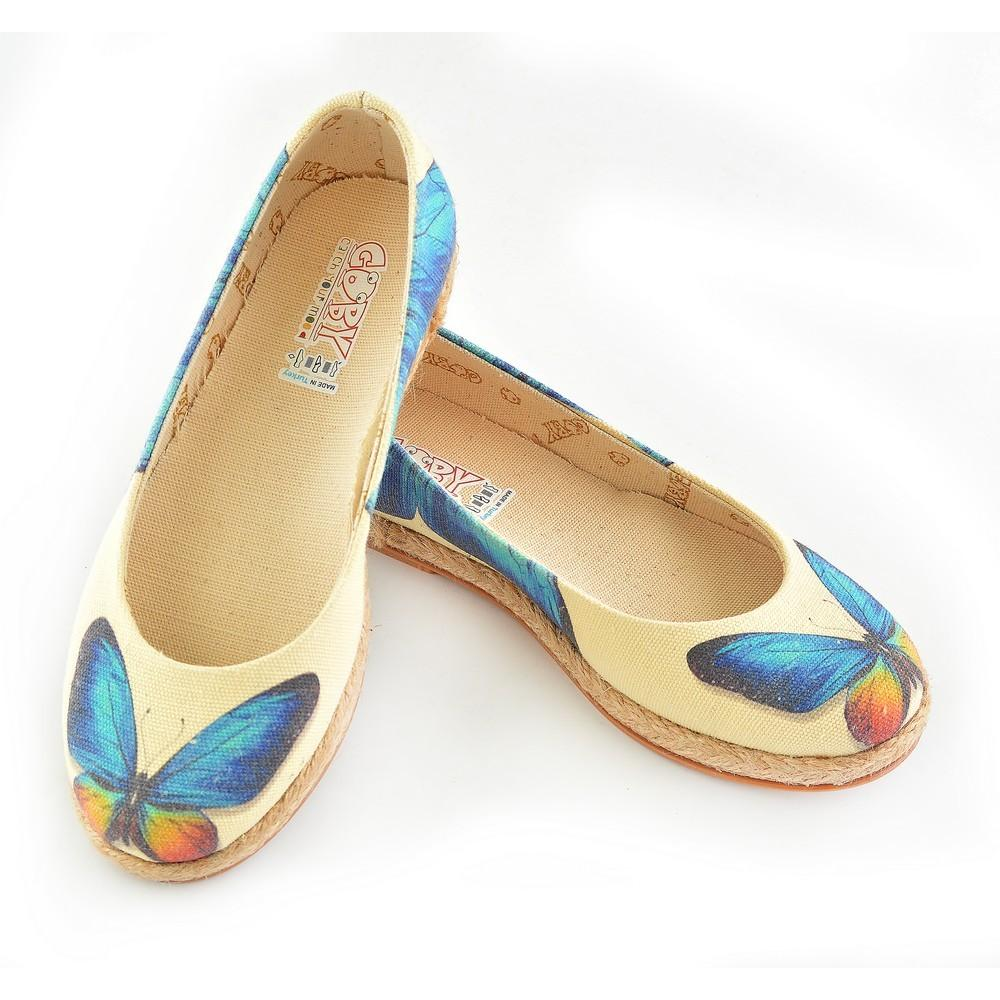 GOBY Butterfly Ballerinas Shoes COC1209