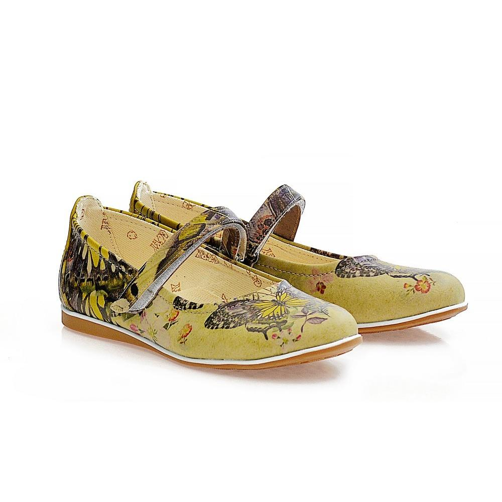 GOBY Butterfly Ballerinas Shoes COC1402
