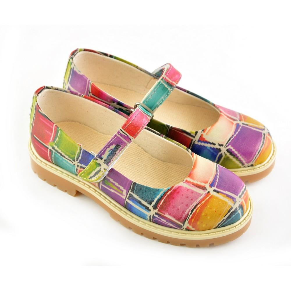 GOBY Colored Stones Ballerinas Shoes COC1504
