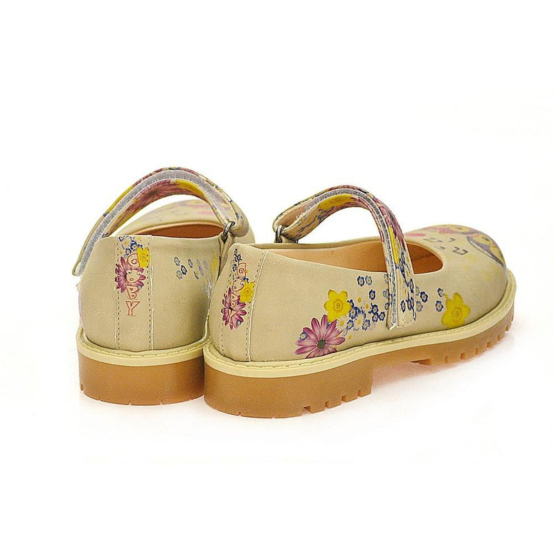 Cute Couple Owl Ballerinas Shoes COC1506 (1405797892192)