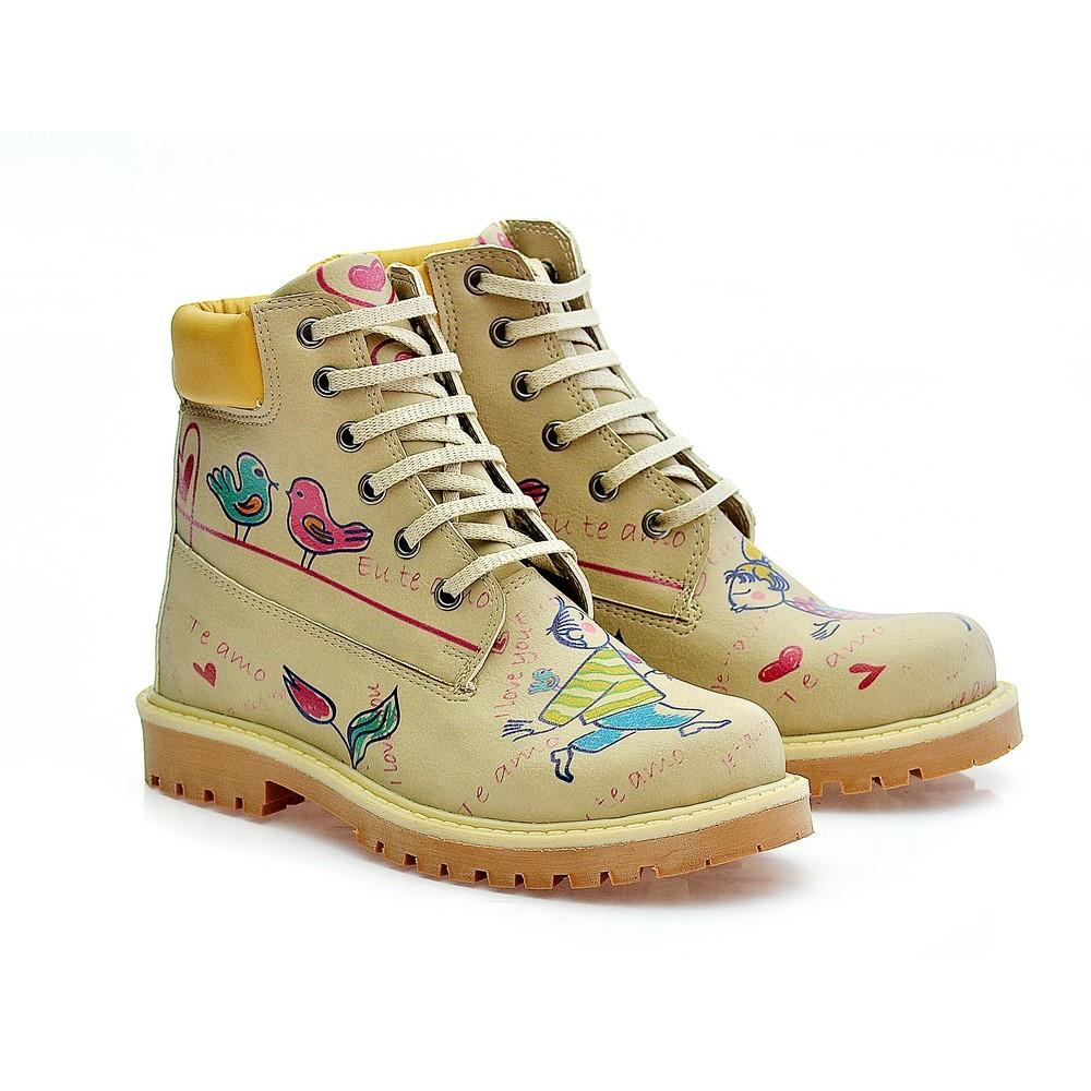 GOBY Cute Couple Short Boots COC205