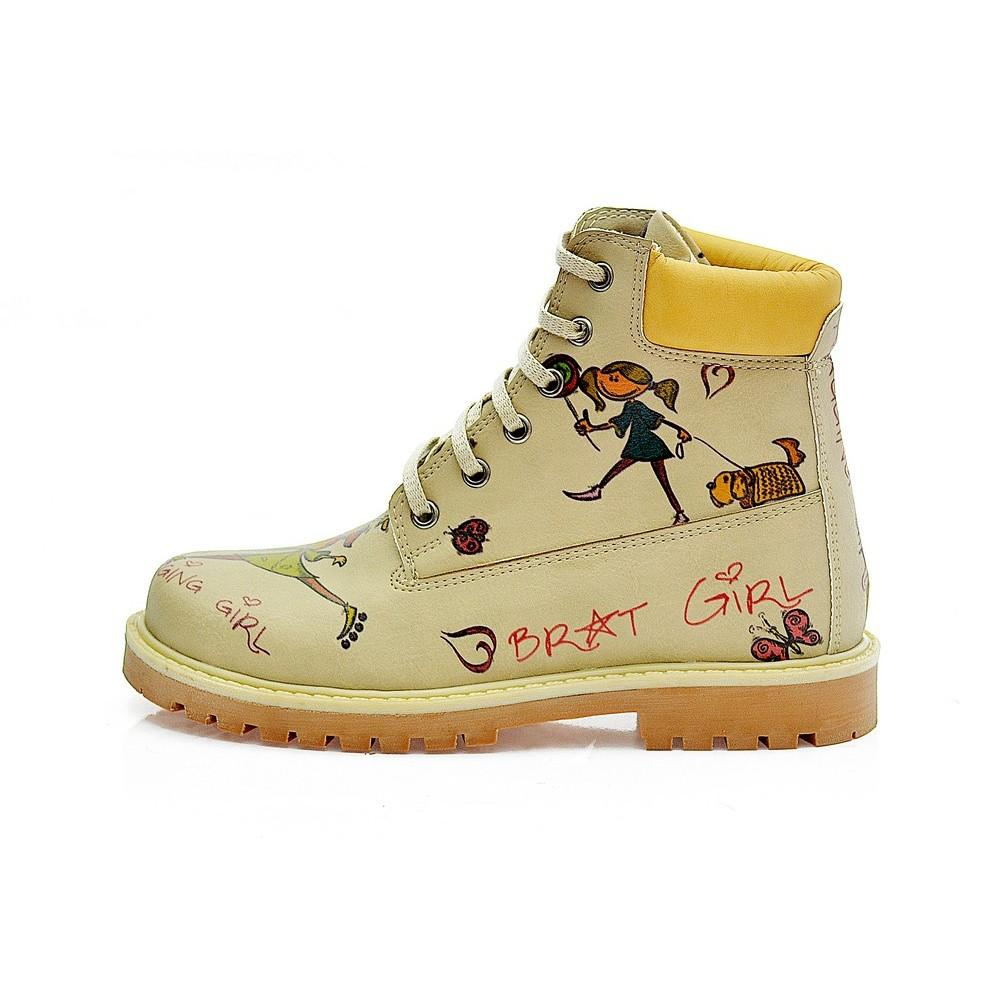 GOBY Nagging Girl Short Boots COC208