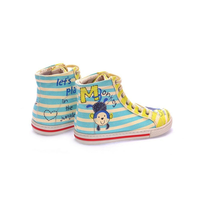 Little Monkey Sneaker Boots COC2101