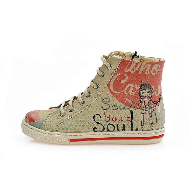 Sound Your Soul Sneaker Boots COC2202 (1405798776928)