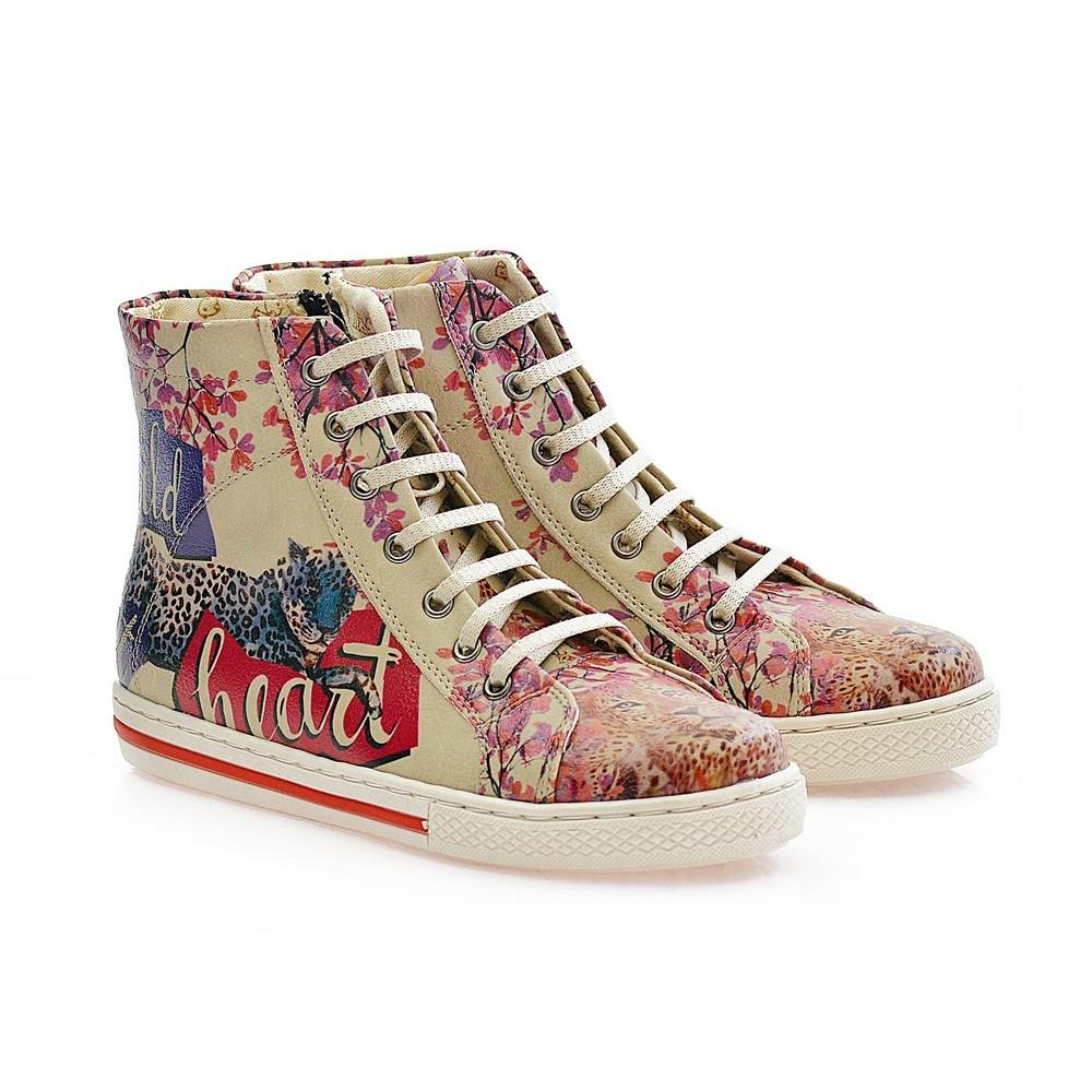 GOBY Wild Heart Sneaker Boots COC2208