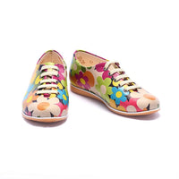 Flowers Ballerinas Shoes COC3001 (1405799137376)