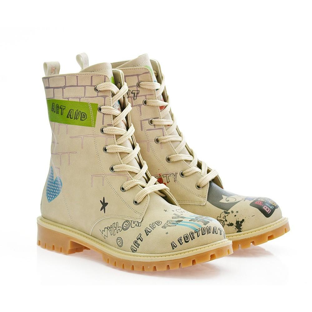 Pretty Blossom Long Boots COC309