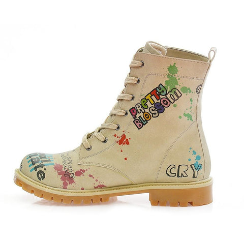 GOBY Pretty Blossom Long Boots COC309