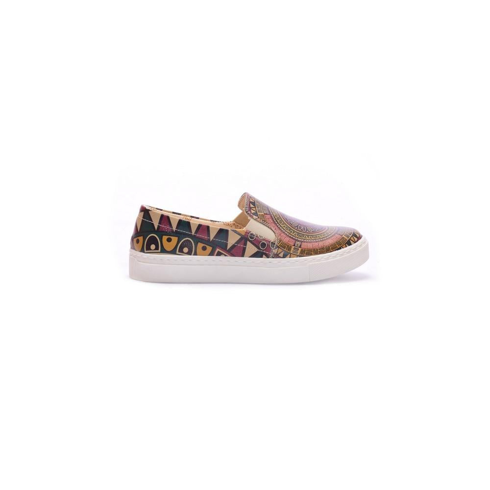 GOBY Mandala Slip on Sneakers Shoes COC4002
