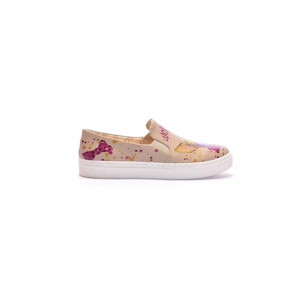 GOBY Lucky Dog Slip on Sneakers Shoes COC4003