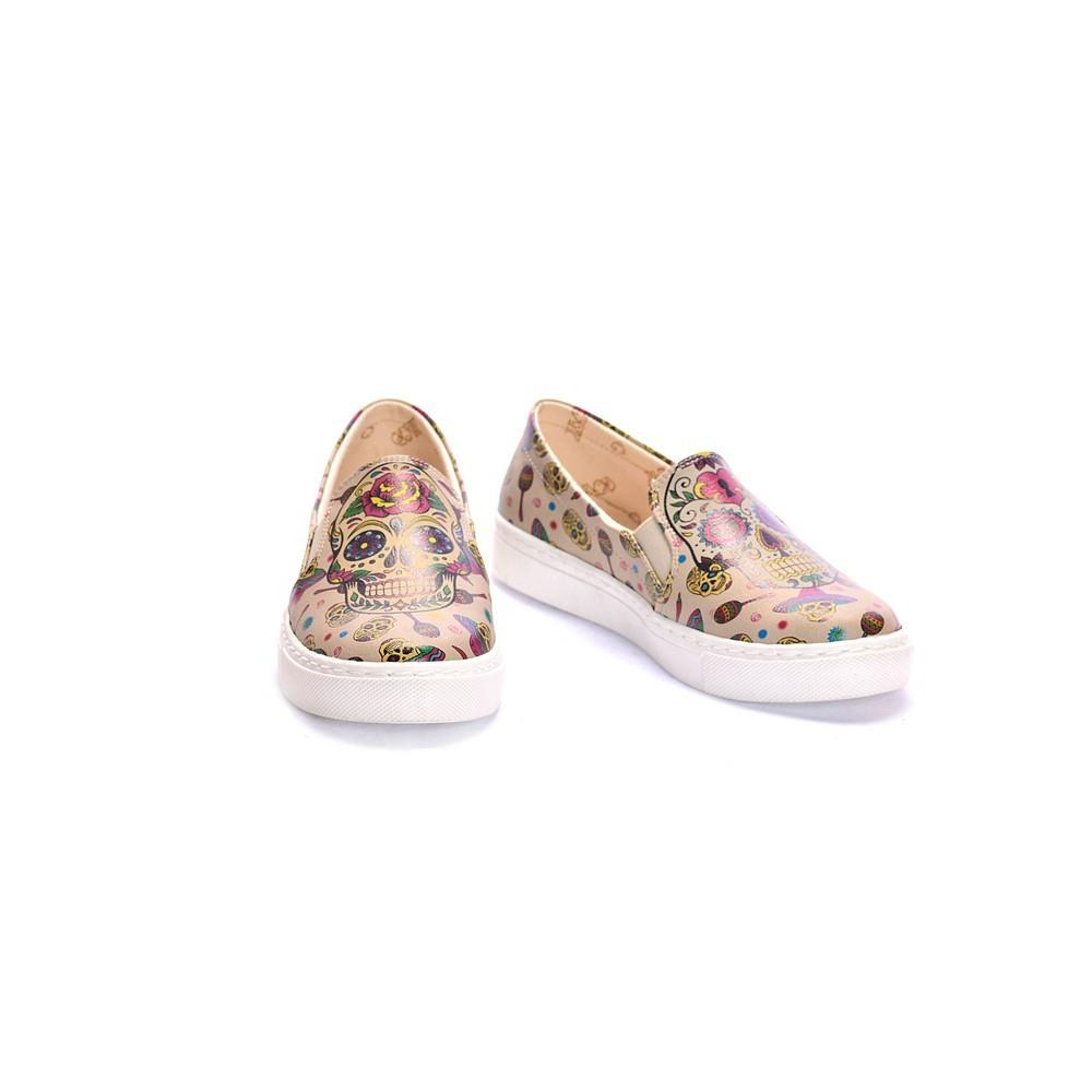 GOBY Skull Slip on Sneakers Shoes COC4005