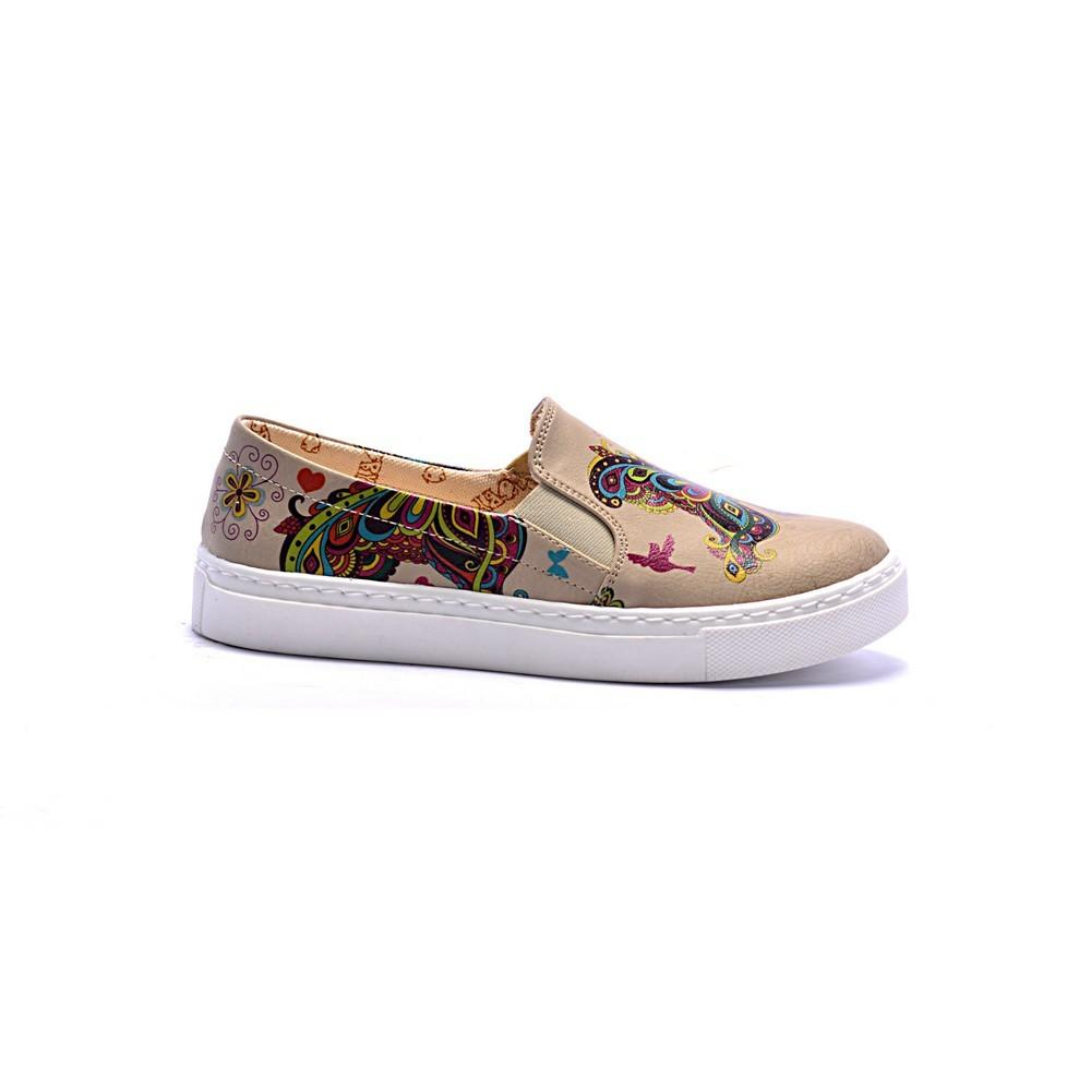 Butterfly Slip on Sneakers Shoes COC4007